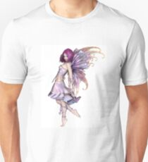 Pretty Purple Fairy Unisex T-Shirt