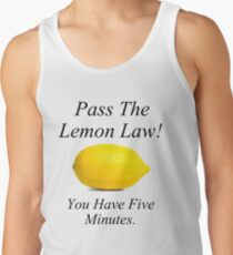 Zitronen-Gesetz Tank Top