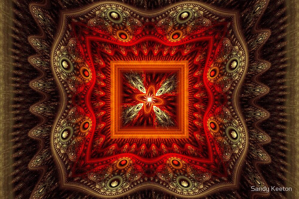 Red Glow by Sandy Keeton