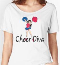 "Cheerleading ""Cheer Diva"" Women's Relaxed Fit T-Shirt"