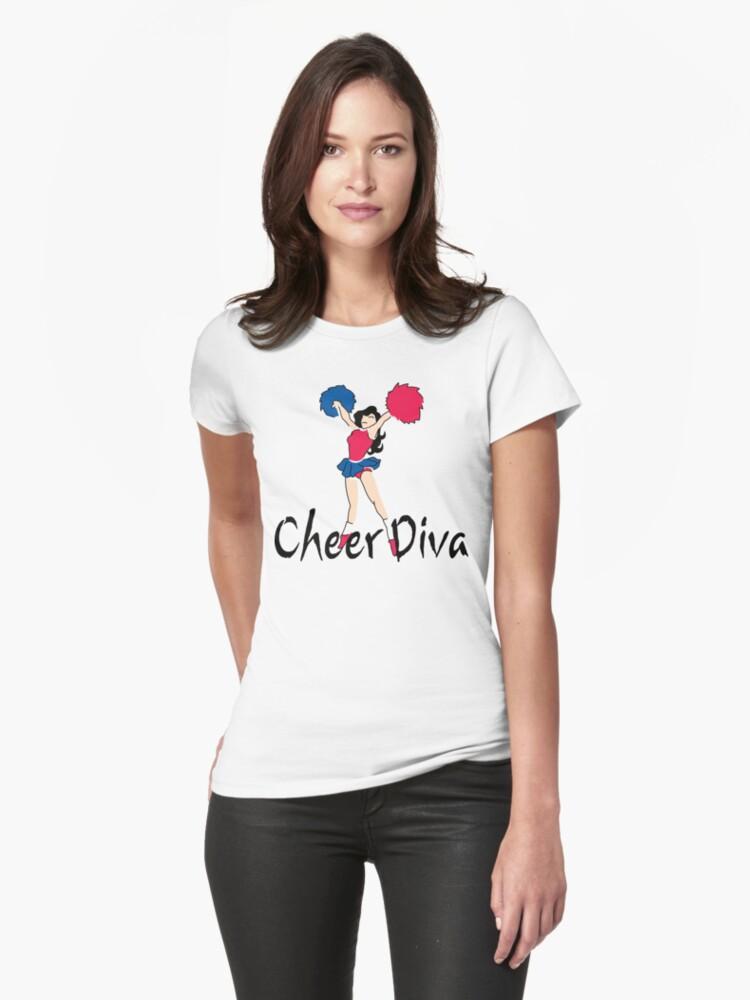 """Cheerleading """"Cheer Diva"""" by SportsT-Shirts"""