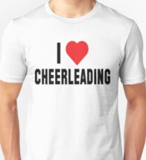 "Cheerleader ""I Love Cheerleading"" Unisex T-Shirt"