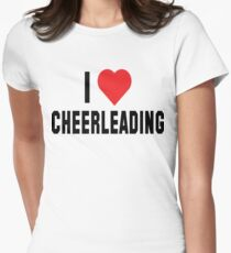 "Cheerleader ""I Love Cheerleading"" T-Shirt"