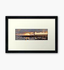Port Fairy Lighthouse, Victoria, Australia Framed Print