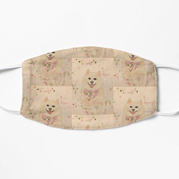 Pretty Samoyed dog Flat Mask