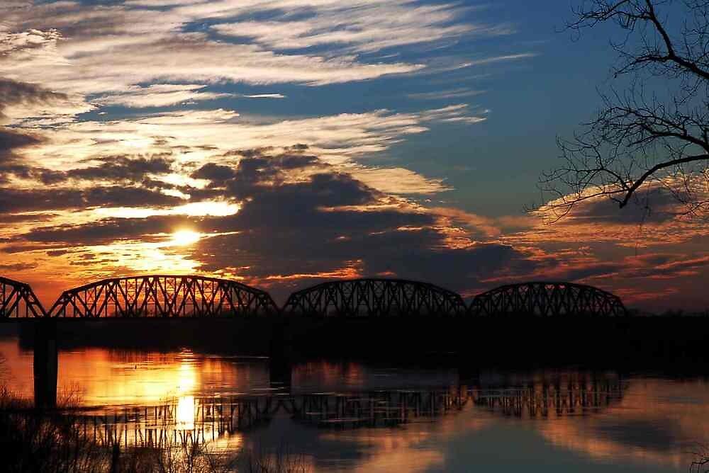 Ohio River Sunsets by kentuckyblueman