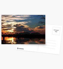 Ohio River Sunsets Postcards