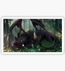 Toothless Mosaic Sticker