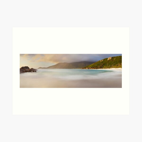 Dawn greets Little Waterloo Bay, Wilsons Promontory, Victoria, Australia Art Print