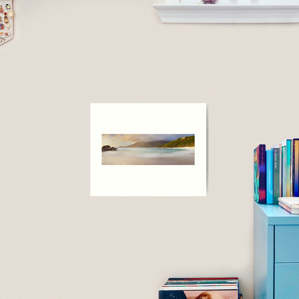 Dawn greets Little Waterloo Bay, Wilsons Promontory, Victoria, Australia Art Print