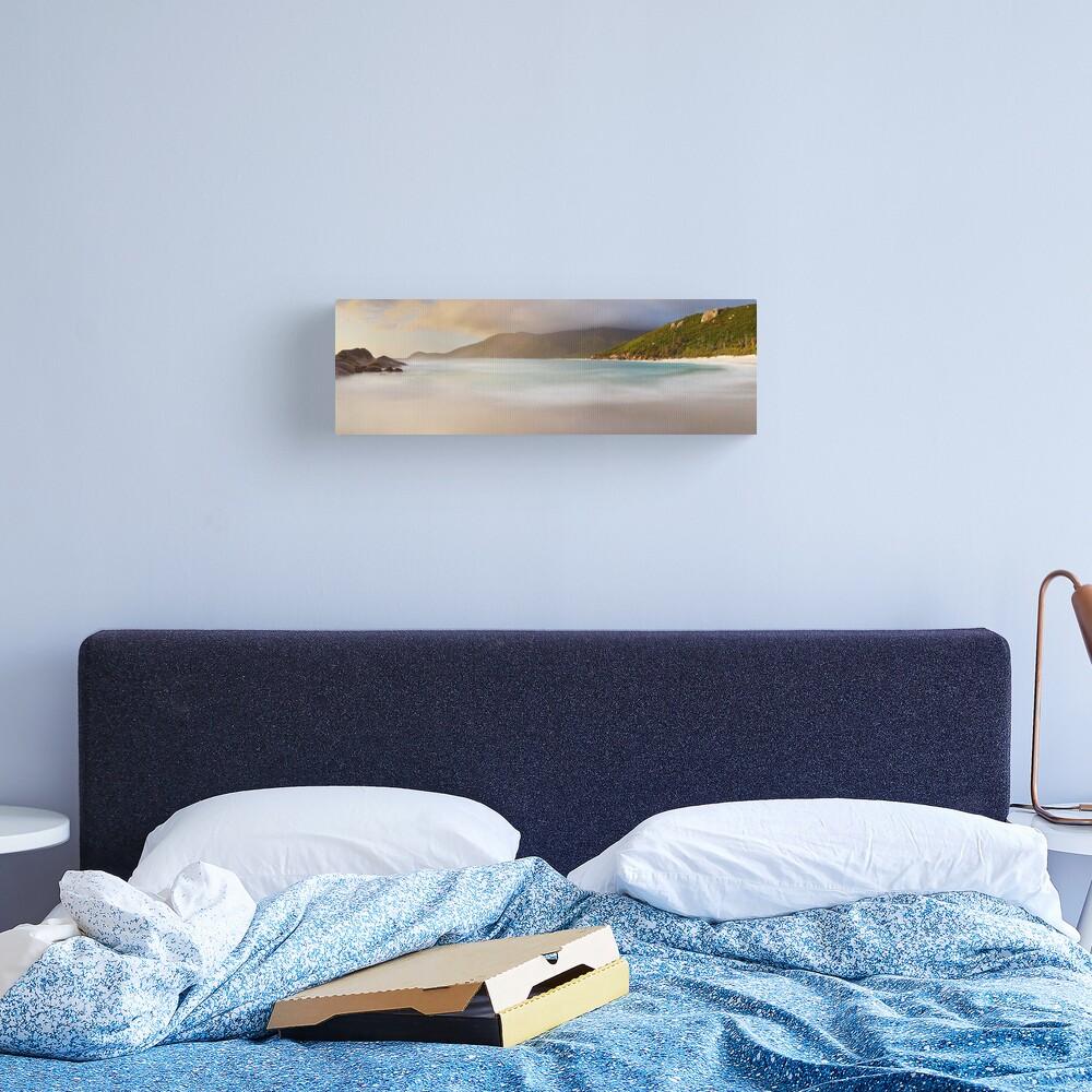 Dawn greets Little Waterloo Bay, Wilsons Promontory, Victoria, Australia Canvas Print