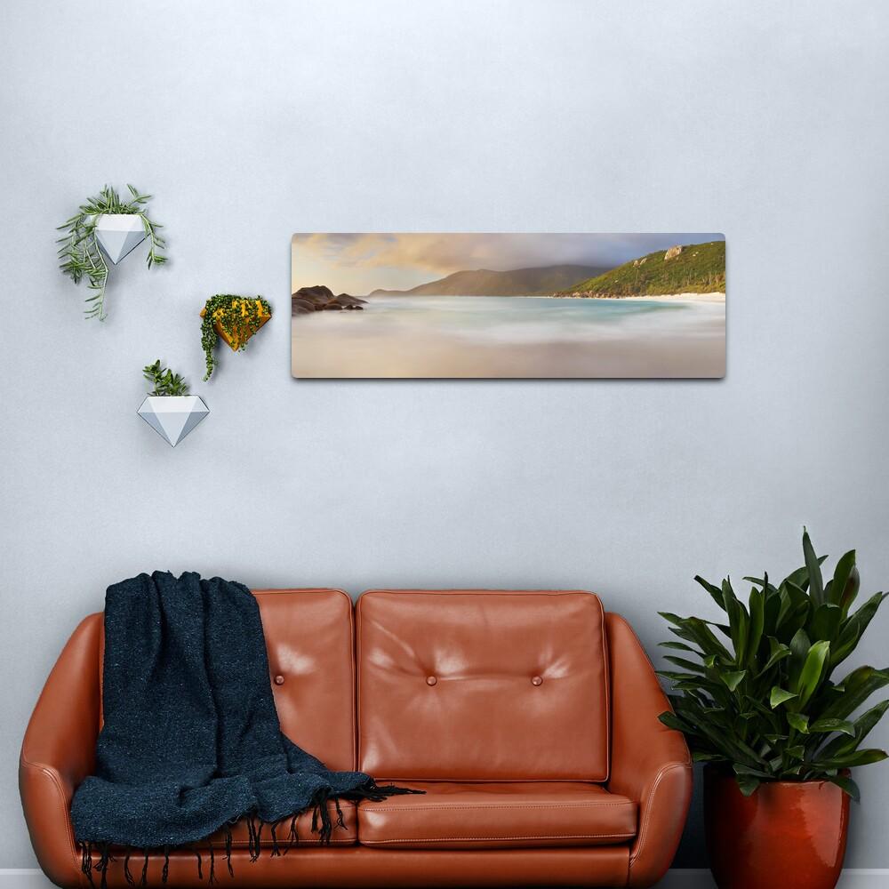 Dawn greets Little Waterloo Bay, Wilsons Promontory, Victoria, Australia Metal Print