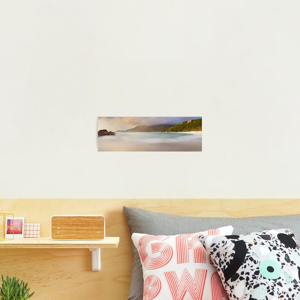 Dawn greets Little Waterloo Bay, Wilsons Promontory, Victoria, Australia Photographic Print