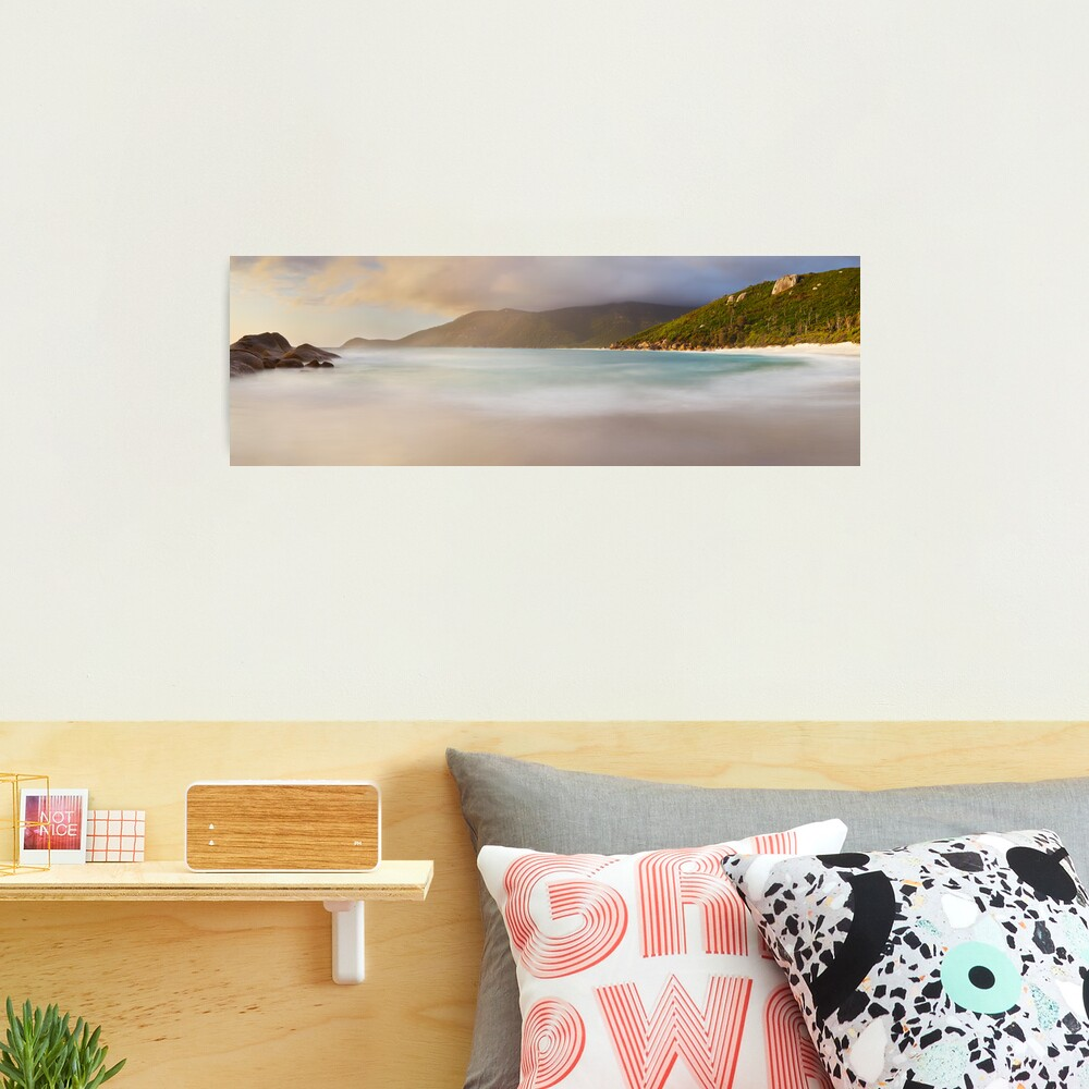 Dawn greets Little Waterloo Bay, Wilsons Promontory, Victoria, Australia Photographic Print