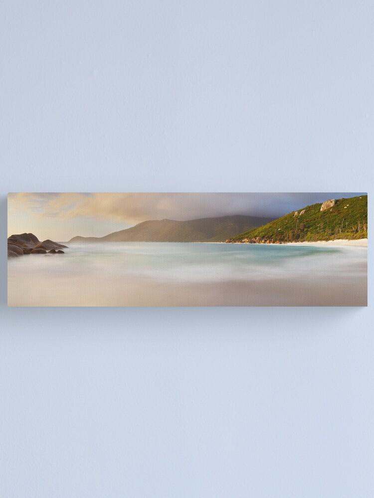 Alternate view of Dawn greets Little Waterloo Bay, Wilsons Promontory, Victoria, Australia Canvas Print