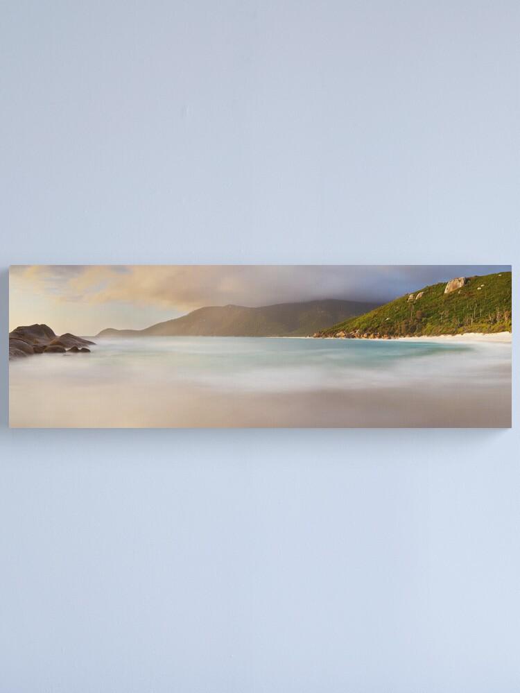 Alternate view of Dawn greets Little Waterloo Bay, Wilsons Promontory, Victoria, Australia Canvas Print