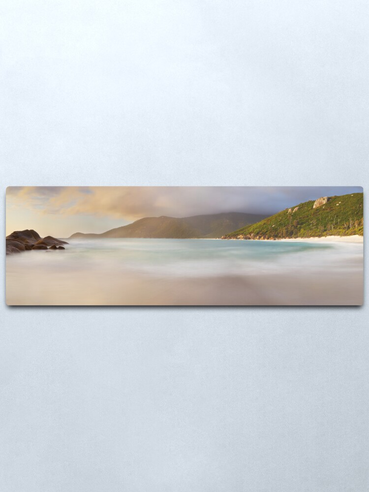 Alternate view of Dawn greets Little Waterloo Bay, Wilsons Promontory, Victoria, Australia Metal Print