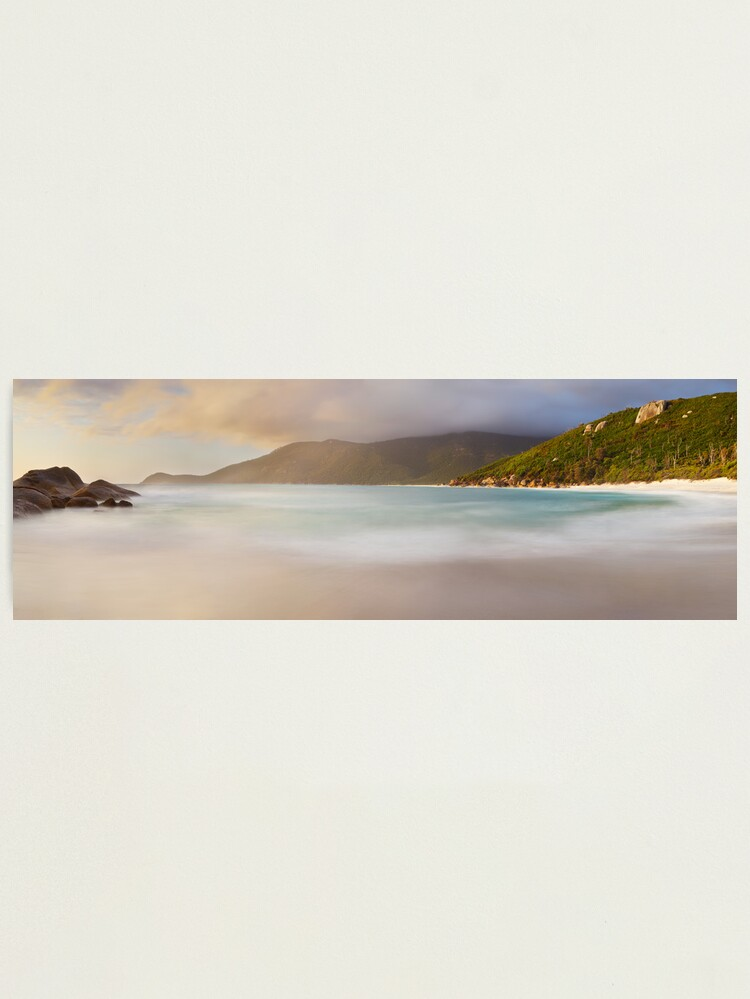 Alternate view of Dawn greets Little Waterloo Bay, Wilsons Promontory, Victoria, Australia Photographic Print