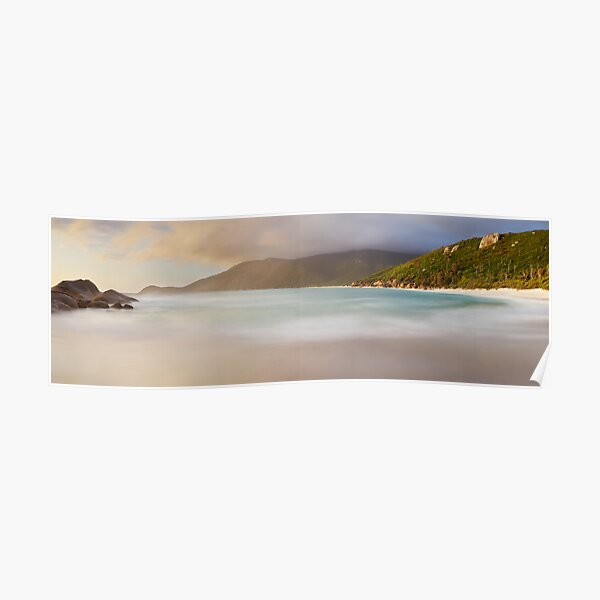 Dawn greets Little Waterloo Bay, Wilsons Promontory, Victoria, Australia Poster