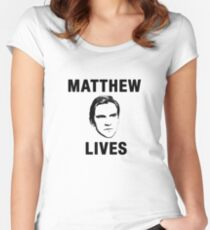 Matthew Lives Women's Fitted Scoop T-Shirt