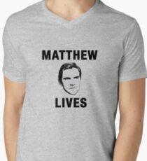 Matthew Lives Men's V-Neck T-Shirt