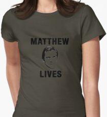 Matthew Lives Womens Fitted T-Shirt