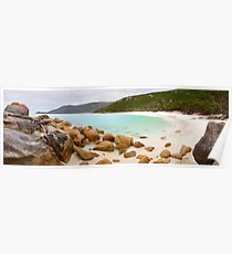 Little Waterloo Bay, Wilsons Promontory, Victoria, Australia Poster
