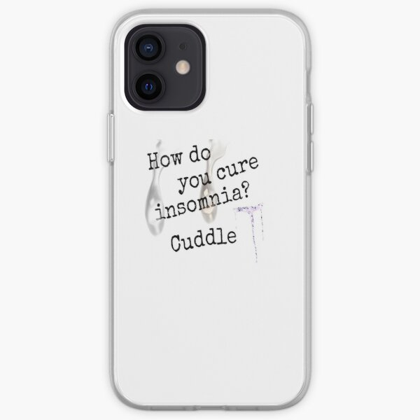 How do you cure insomnia iPhone Soft Case