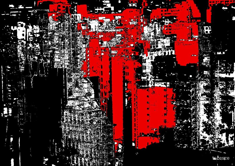 city lights by tszesze