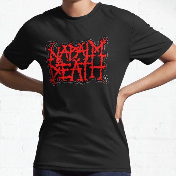 NAPALM DEATH ROCK BAND MUSIC LEGEND Active T-Shirt