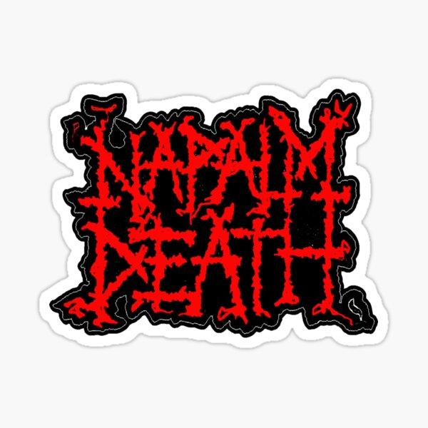 NAPALM DEATH ROCK BAND MUSIC LEGEND Sticker