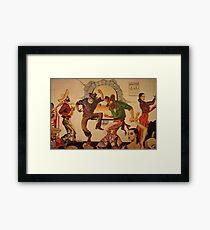 Pancho's Dancers Framed Print