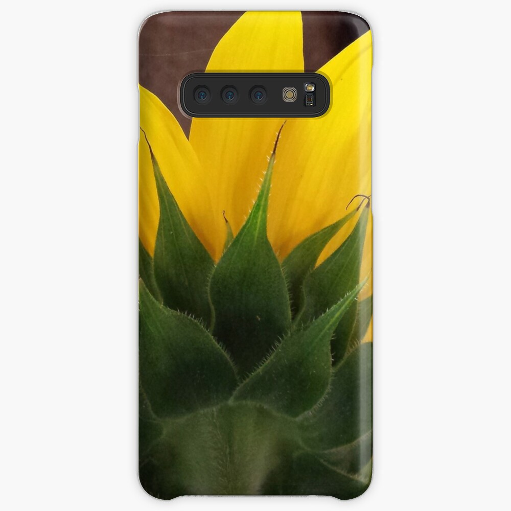 Backside of the Sunflower Case & Skin for Samsung Galaxy