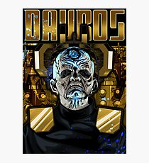 Davros Photographic Print