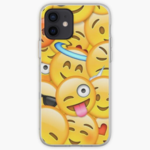 Emojis iPhone Soft Case