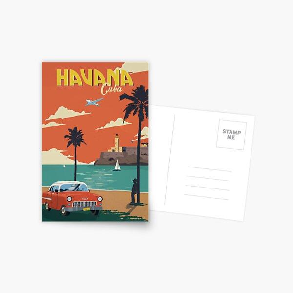 Viaje a La Habana Cuba Postal