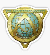 Adventure Society Sticker