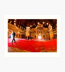Show Me The Way - Mosque of Mohamed Ali Pasha Art Print