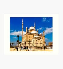 Mosque of Mohamed Ali Pasha - Cairo, Egypt Art Print