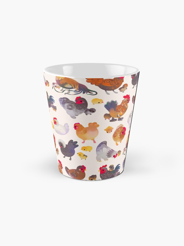 Alternate view of Chicken and Chick Mug