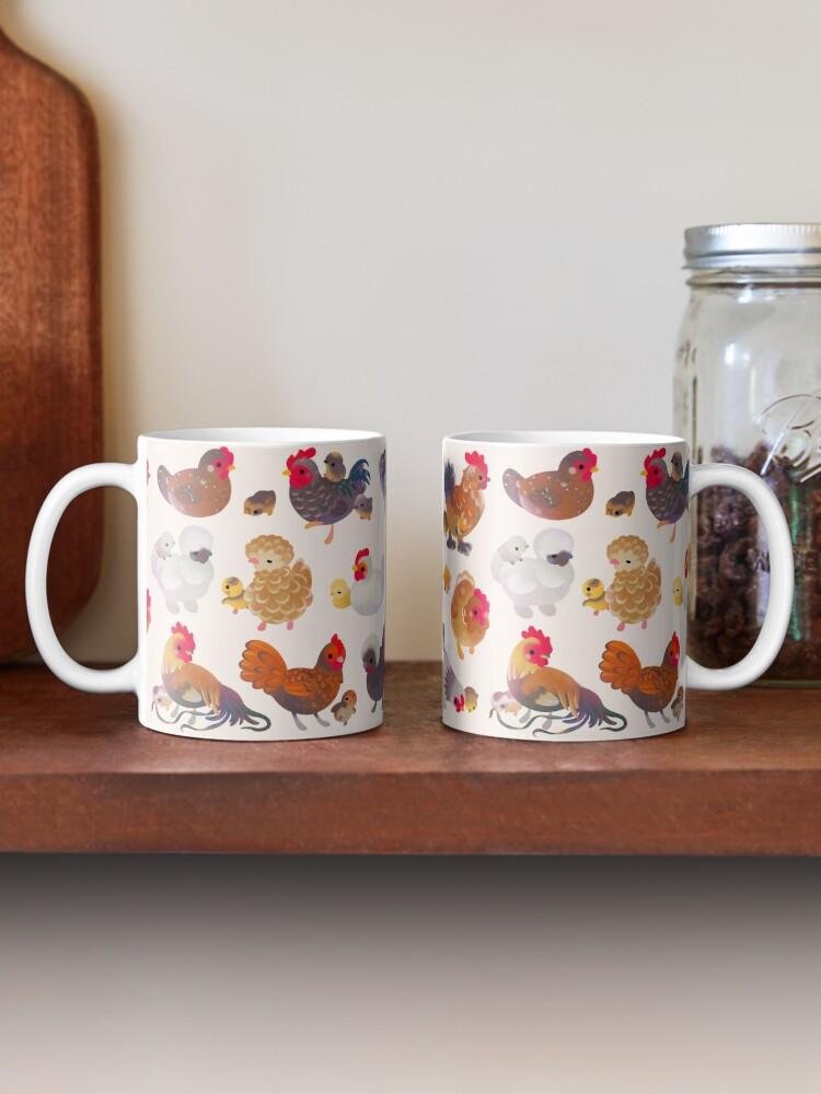 Alternate view of Chicken and Chick Mug