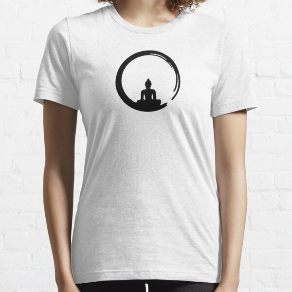Enso Zen Circle of Enlightenment, Meditation, Buddha, Buddhism, Japan Essential T-Shirt