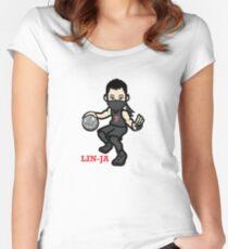 Lin-Ja - Jeremy Lin  Women's Fitted Scoop T-Shirt