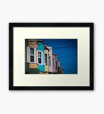 California Suburb Framed Print