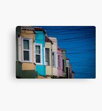 California Suburb Canvas Print