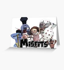 Misfit Toys Greeting Card
