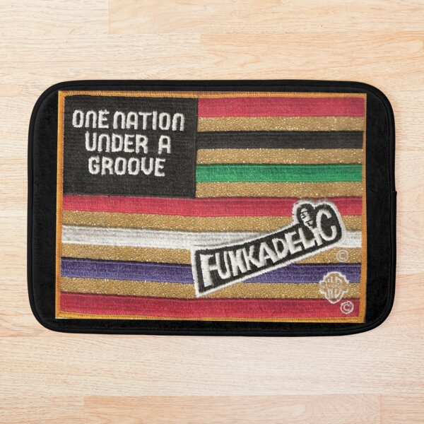 Funkadelic One Nation Under A Groove Flag Bath Mat