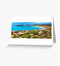 Browns Beach South Australia. Greeting Card