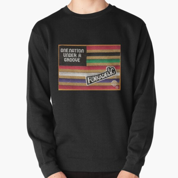 Funkadelic One Nation Under A Groove Flag Pullover Sweatshirt