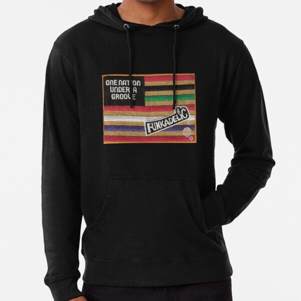 Funkadelic One Nation Under A Groove Flag Lightweight Hoodie